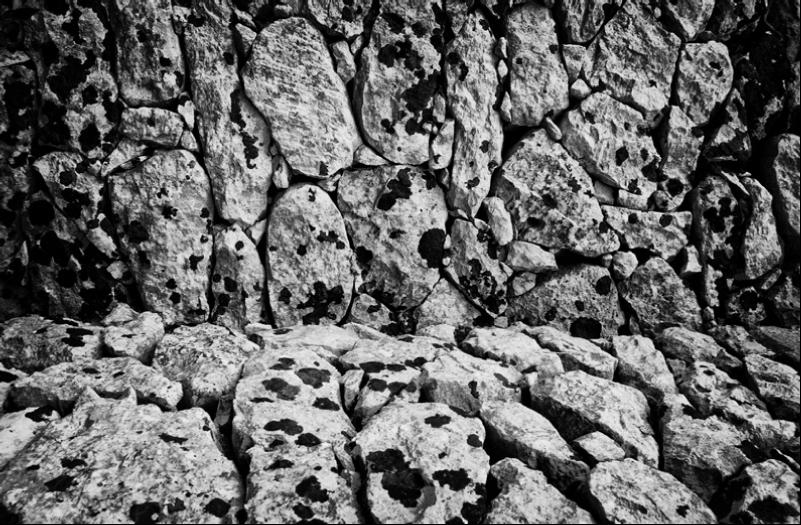 """""""Petra"""", La prima e unica fotografia del progetto stampata in camera oscura a partire da un file digitale"""