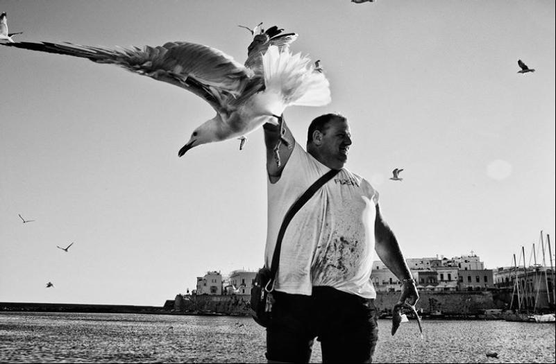 """Una delle fotografie del reportage """"Ti racconto il Mare"""", pubblicata nel volume omonimo"""