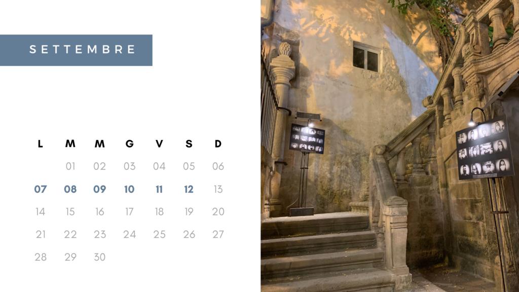 calendario settembre 2020