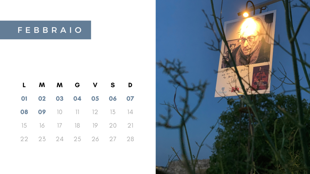 calendario febbraio 2021